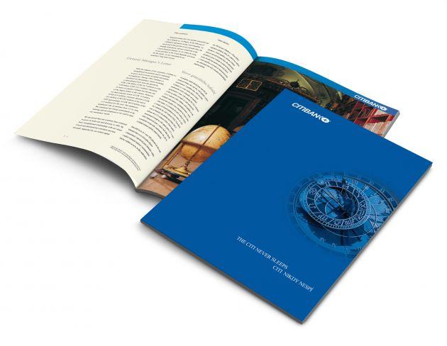 Výroční zpráva Citibank - 1995